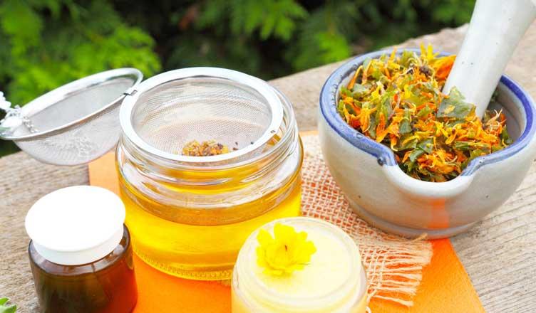 hausmittel gegen hämorrhoidenselbstgemachte ringelblumensalbe